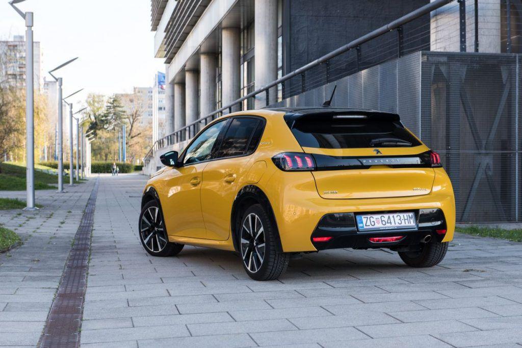 Peugeot 208 GT line PureTech 100 S&S, osvajač srca i razuma, izgled je samo jedan u nizu aduta 9