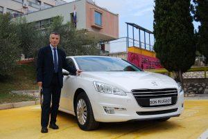 P Automobil Import donirao Peugeot 508 školi u Zadru, za nastavne svrhe