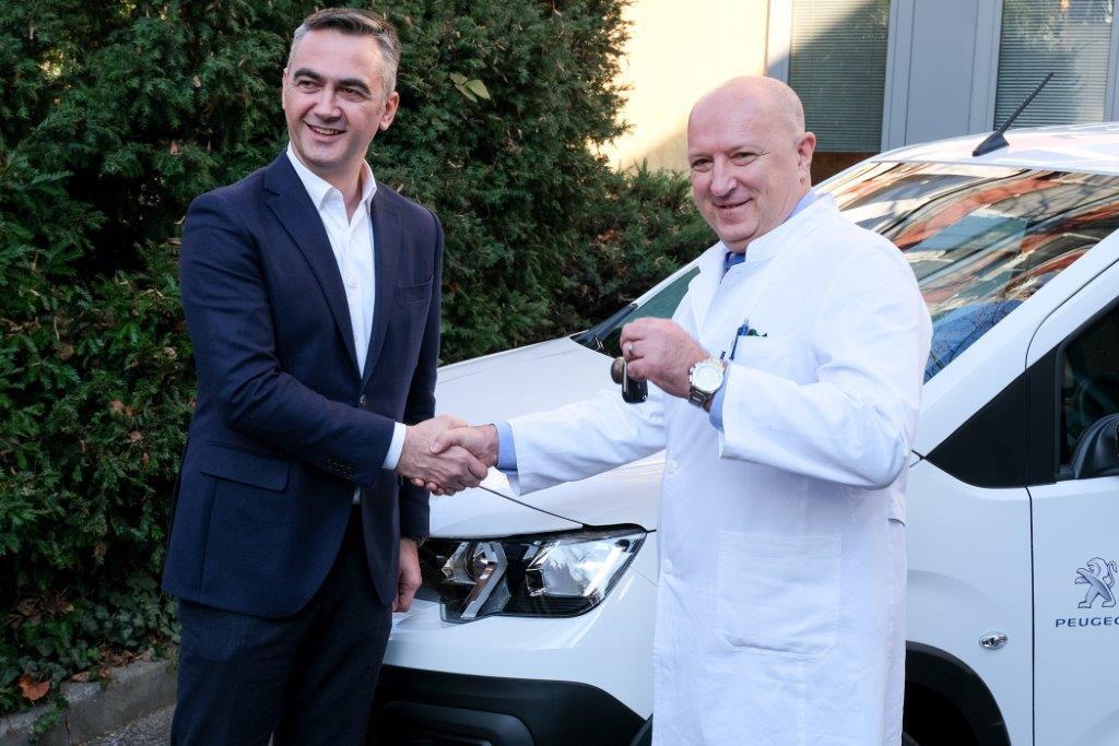 Peugeot RIFTER klinika za dječije bolesti