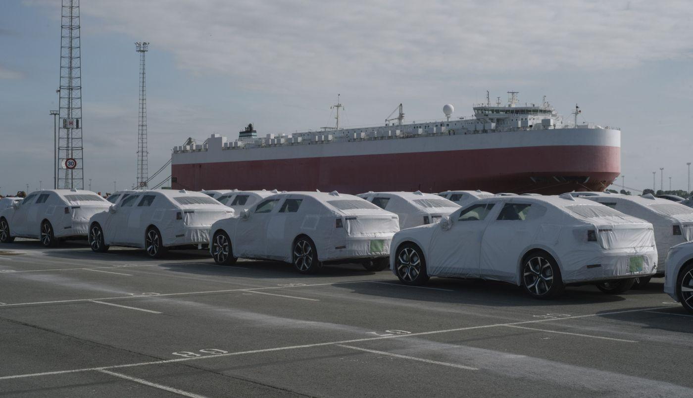 Polestar  Zeebrugge arrival