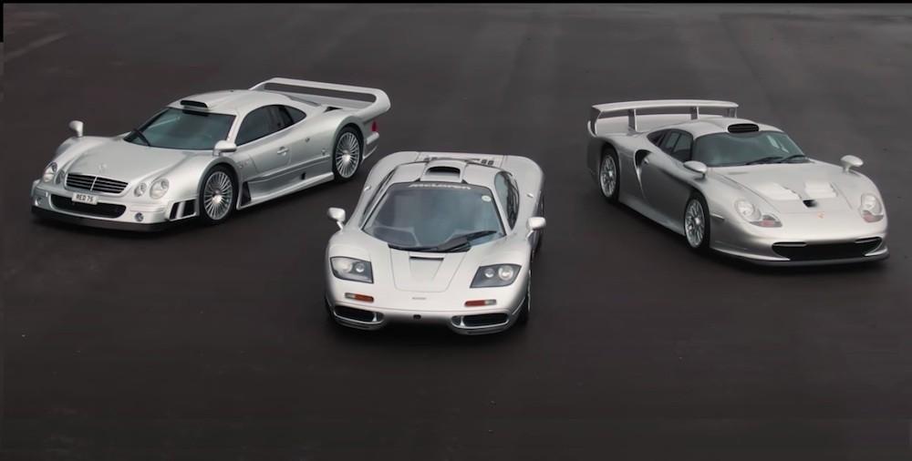 Porsche  GT Mclaren F Mercedes CLK GTR