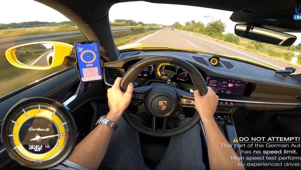 Porsche 911 (992) Turbo S i demonstracija moći na Autobahnu, nestvarno!