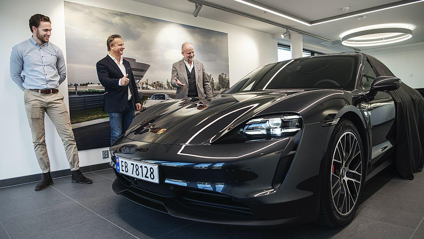 Porsche Taycan Norveska