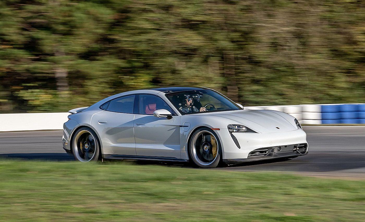 Porsche Taycan record EV