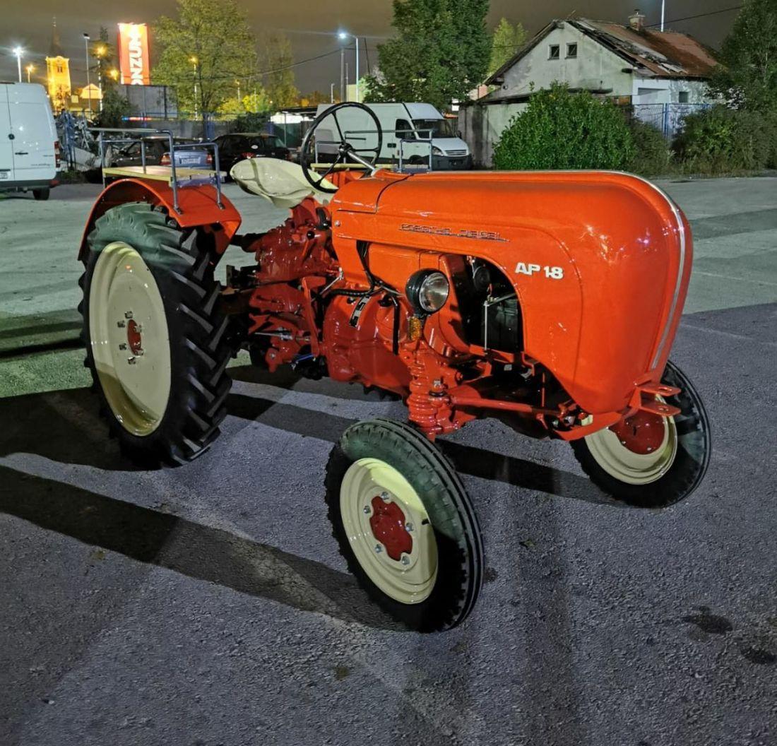 Porsche diesel AP traktor driveteam