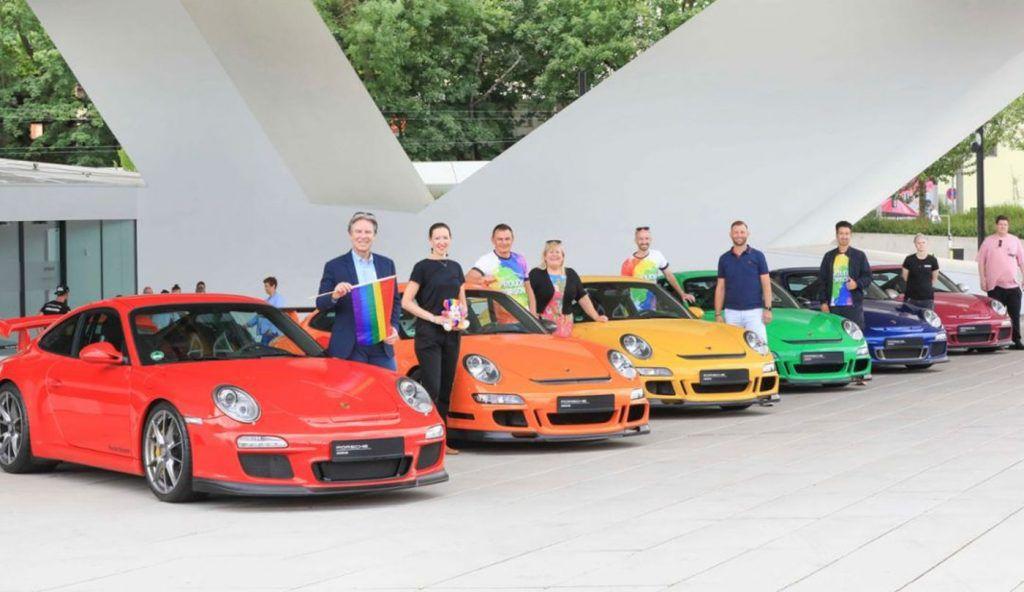 Porsche za jednakost, podržao paradu ponosa na zanimljiv način