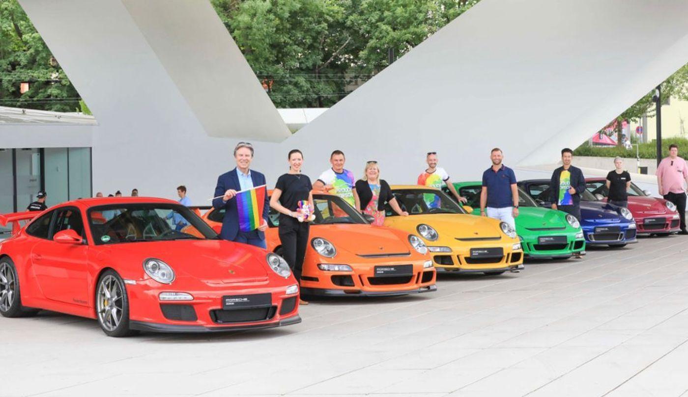 Porsche parada