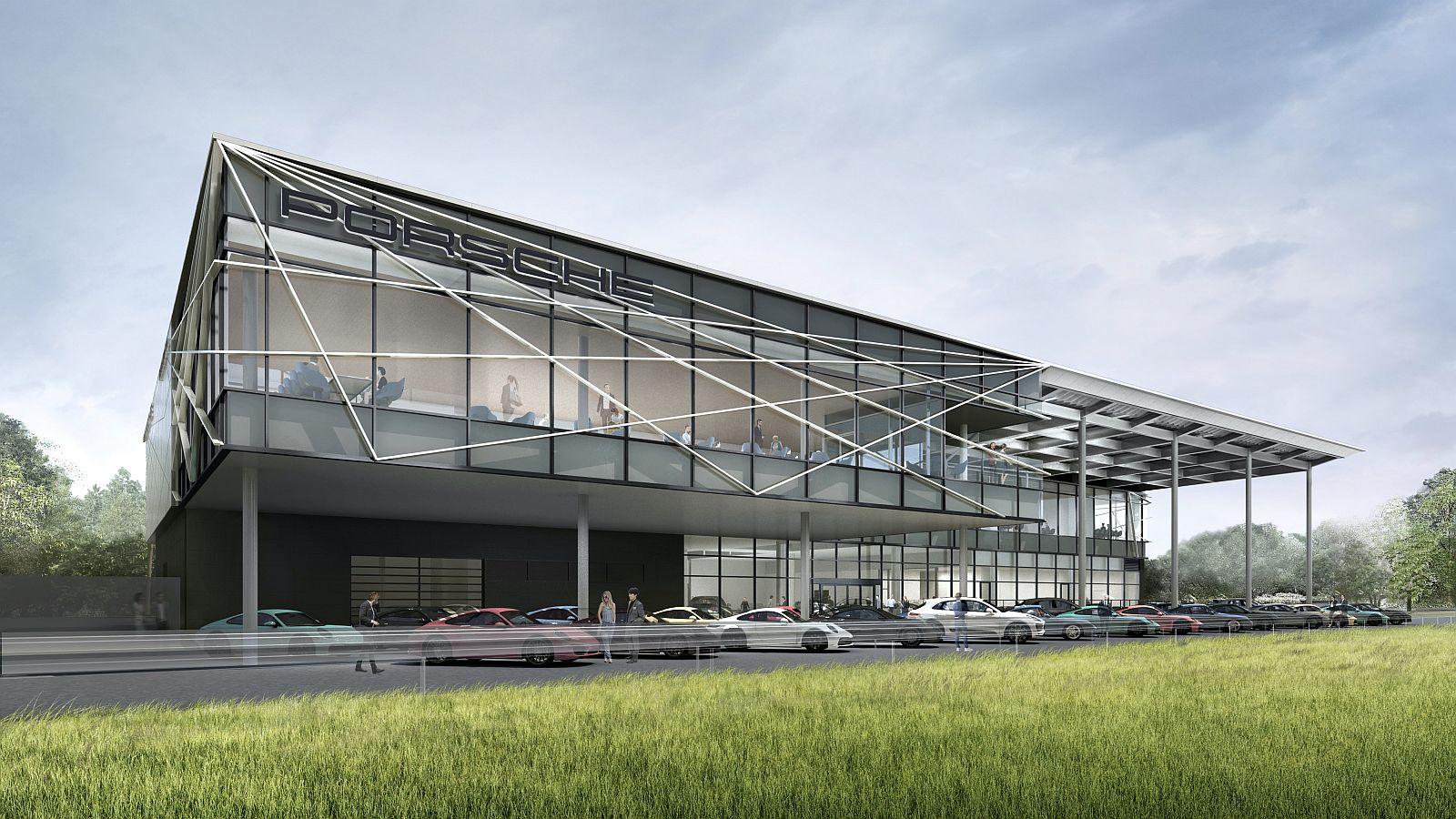 Porsche test centar Japan