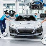 Rimac C Two Prototype Assembly Line