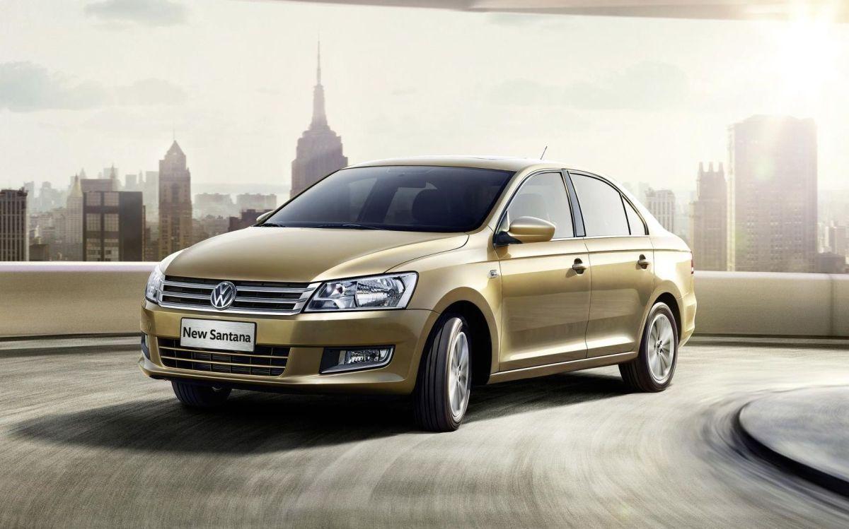SAIC Volkswagen Santana