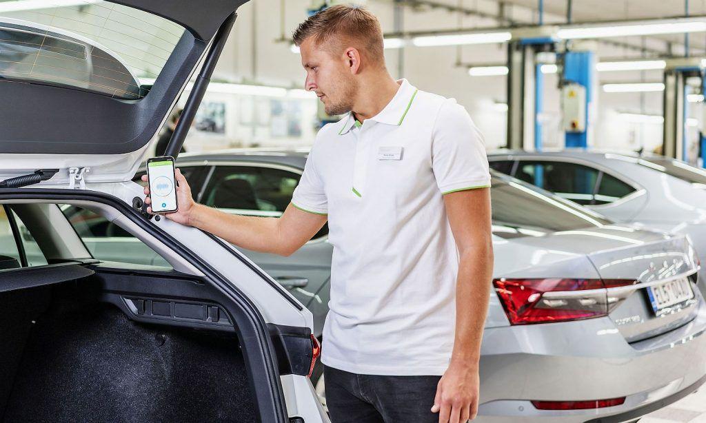 Škoda ima aplikaciju za otkrivanje problema na vozilu uz pomoć zvuka 2