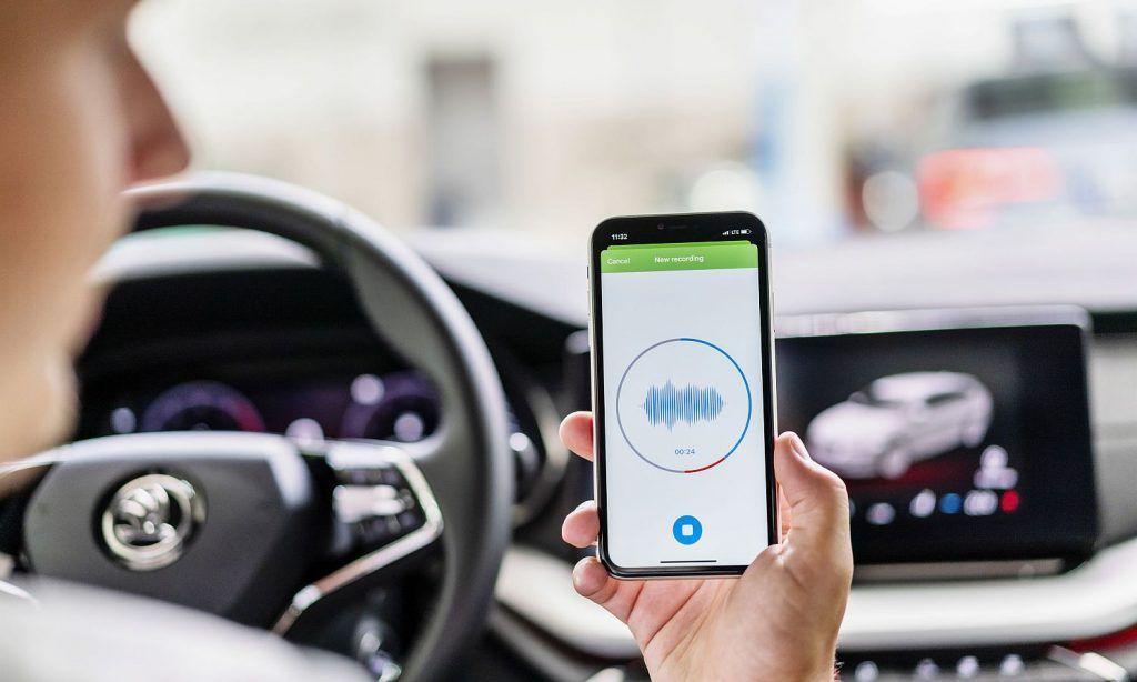Škoda ima aplikaciju za otkrivanje problema na vozilu uz pomoć zvuka 1