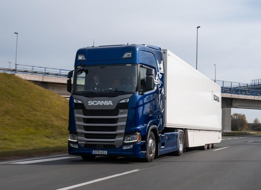 Scania S test vožnja potrošnja fuel consumption review