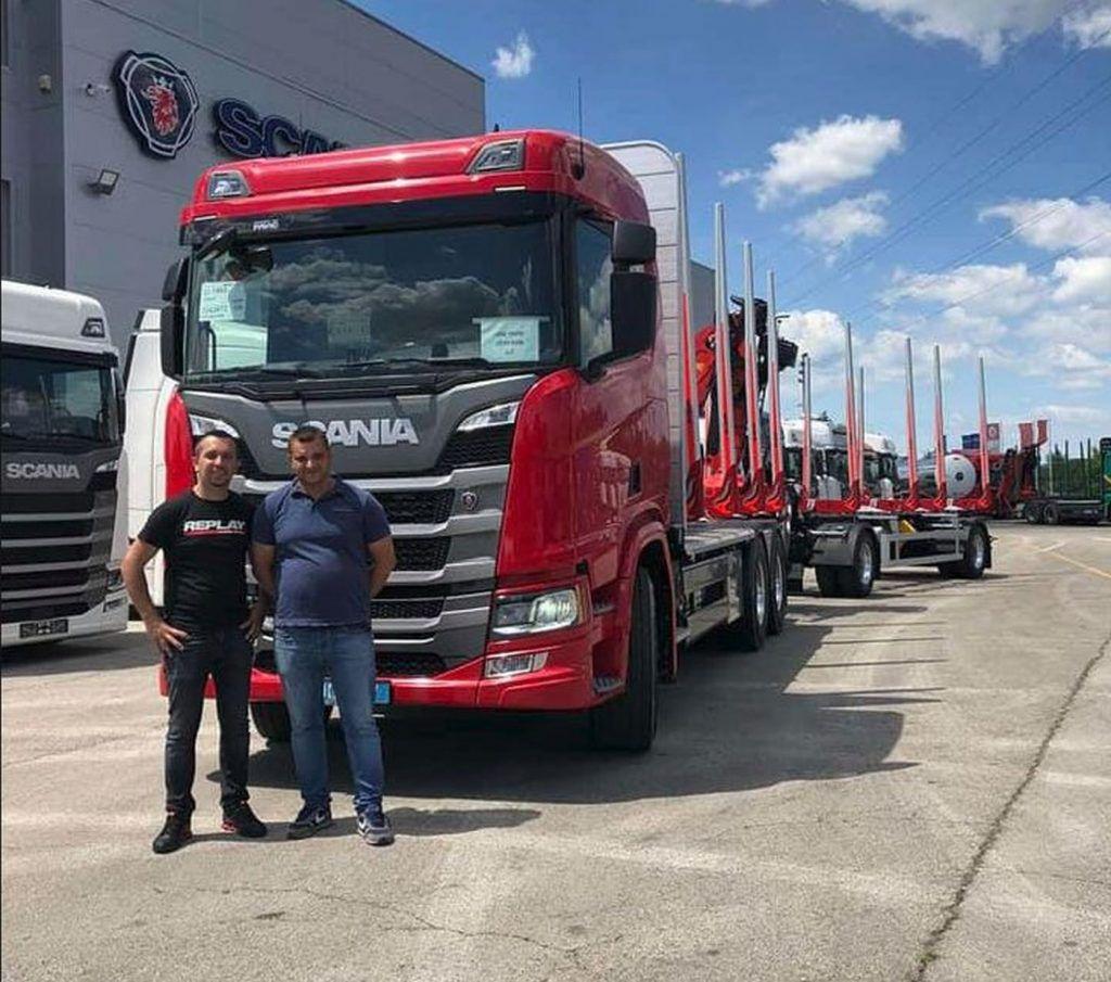 Vrijedni Ličani dobili pojačanje, Scania R500 od sad na usluzi Zlatko Commerce iz Jezerana 1
