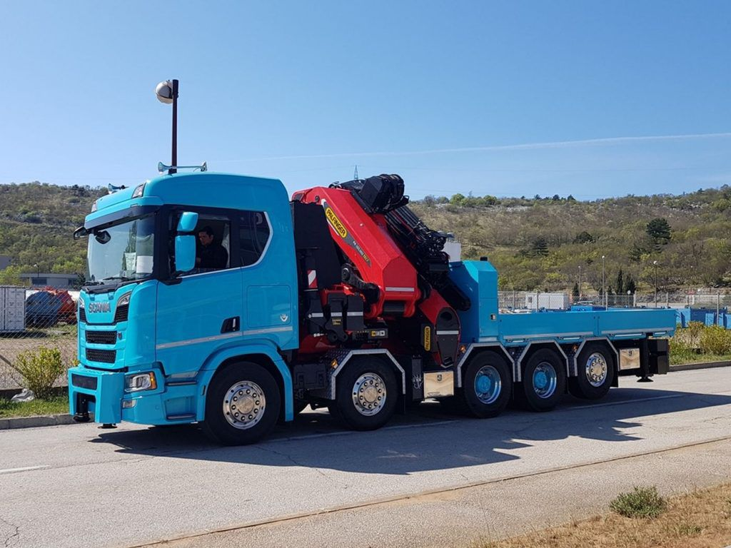 Scania R 650 V8 sa Palfinger nadogradnjom, impresivno pojačanje za Velebit Promet