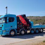 Scania R  V Palfinger Kran Velebit promet