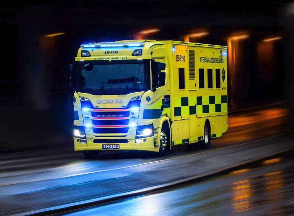 Scania u službi hitne pomoći, putujuća bolnica na kotačima