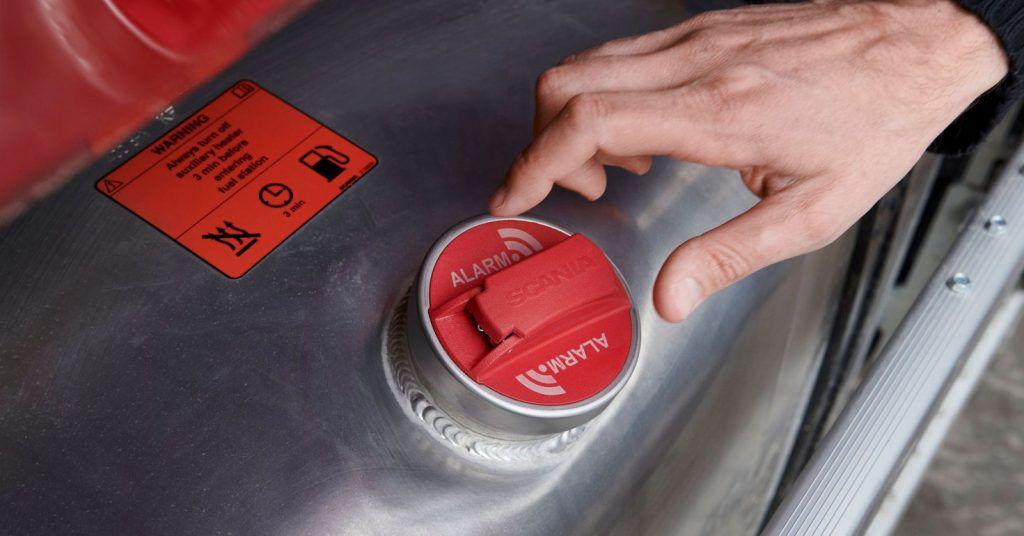 Scania predstavila alarm za krađu goriva