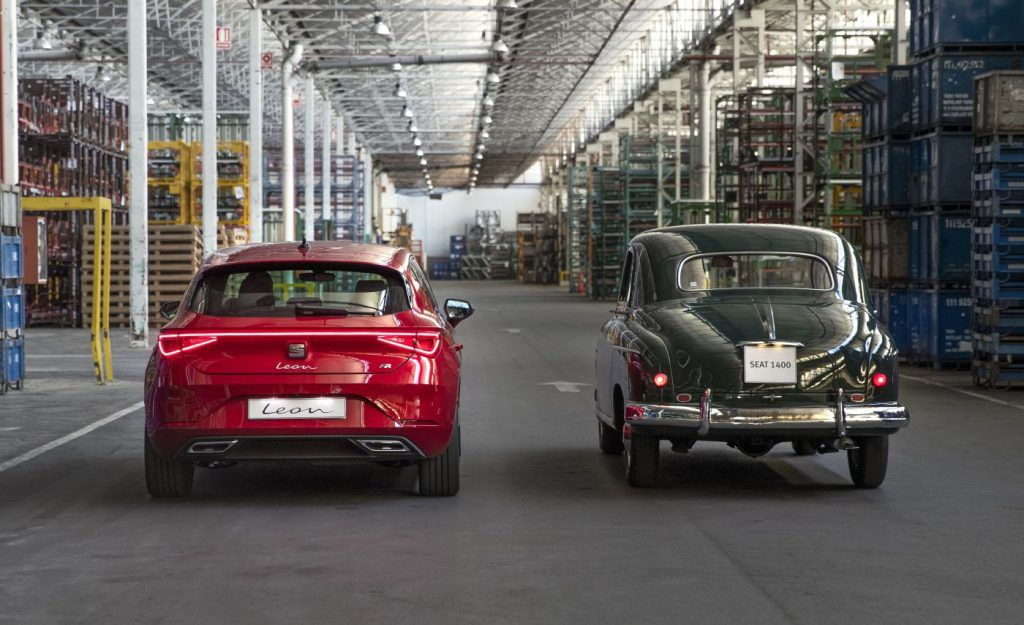 Seat 1400 i Leon, španjolski pogled na automobile nekada i danas, 70 godina stalnog napretka 3