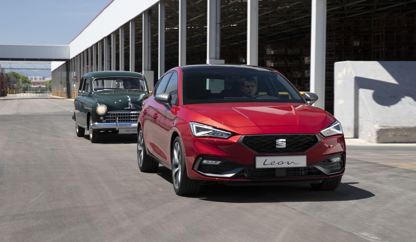 Seat 1400 i Leon, španjolski pogled na automobile nekada i danas, 70 godina stalnog napretka
