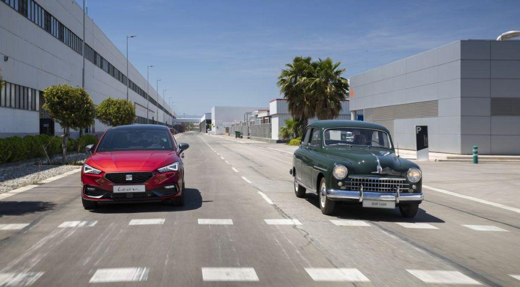 Seat 1400 i Leon, španjolski pogled na automobile nekada i danas, 70 godina stalnog napretka 2