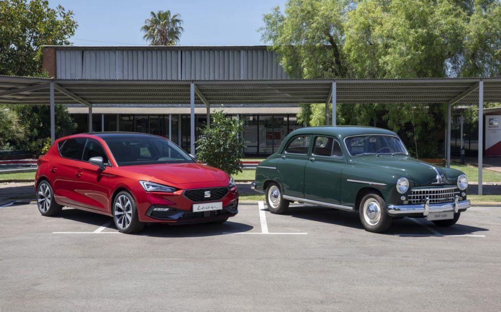 Seat 1400 i Leon, španjolski pogled na automobile nekada i danas, 70 godina stalnog napretka 1