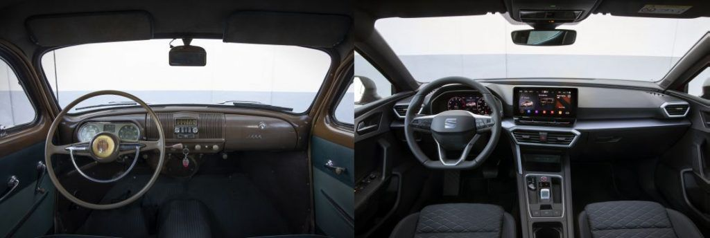 Seat 1400 i Leon, španjolski pogled na automobile nekada i danas, 70 godina stalnog napretka 5
