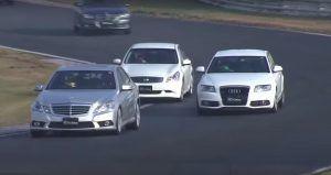 Omiljene limuzine na stazi, 5 krugova za dokazivanje E-klase, A6 i BMW 335i!