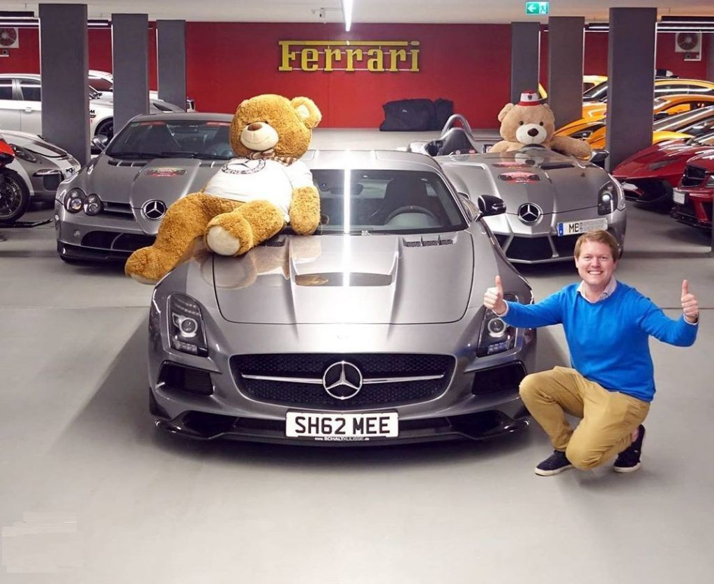 U YouTubeu je lova, Shmee se nagradio Mercedes-Benz SLS Black Series edicijom