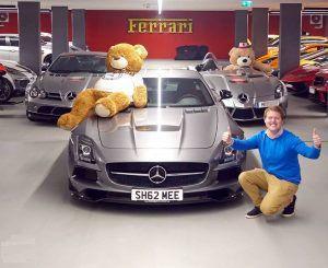 U YouTubeu je lova, Shmee se nagradio Mercedes-Benz SLS Black Series edicijom