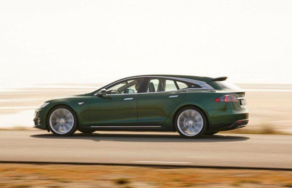 Tesla Model SB u unikatnoj karavanskoj inačici vrijednoj 240.000 eura!