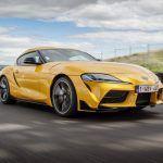 Toyota Supra zlatni volan