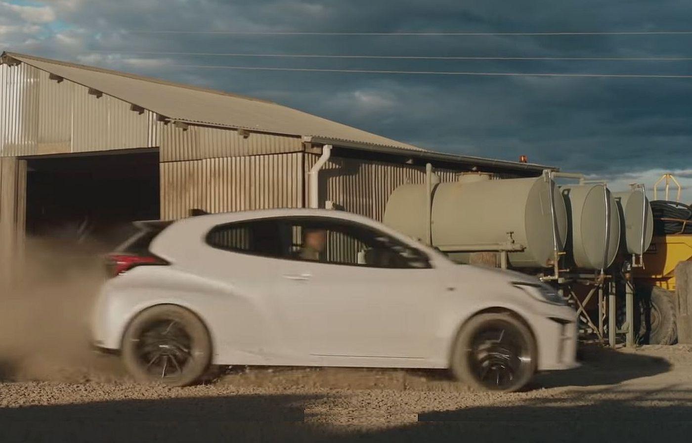 Toyota Yaris GR Australija commercial