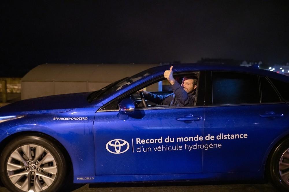 Toyota Mirai  km rekord vodik