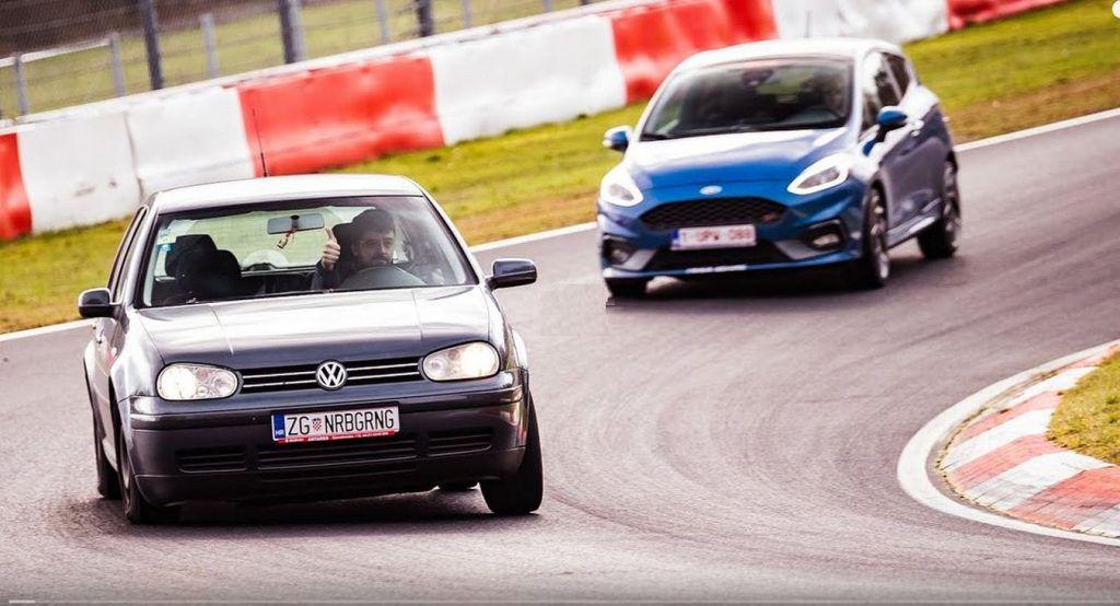 Tko vozi Volkswagen Golf 'četvorku' jedinstvenih 'ZG tablica' koja je stalno na 'Ringu'?