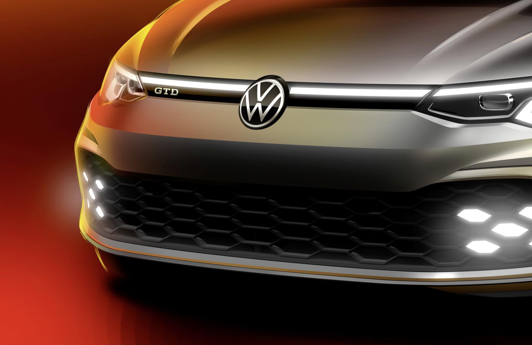 VW GOLF  GTD DRIVETEAM