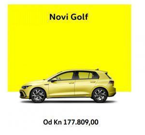 Znamo cijene za novi Volkswagen Golf 8, hoće li izgubiti na popularnosti?