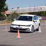 VW Golf  test izbjegavanja losa