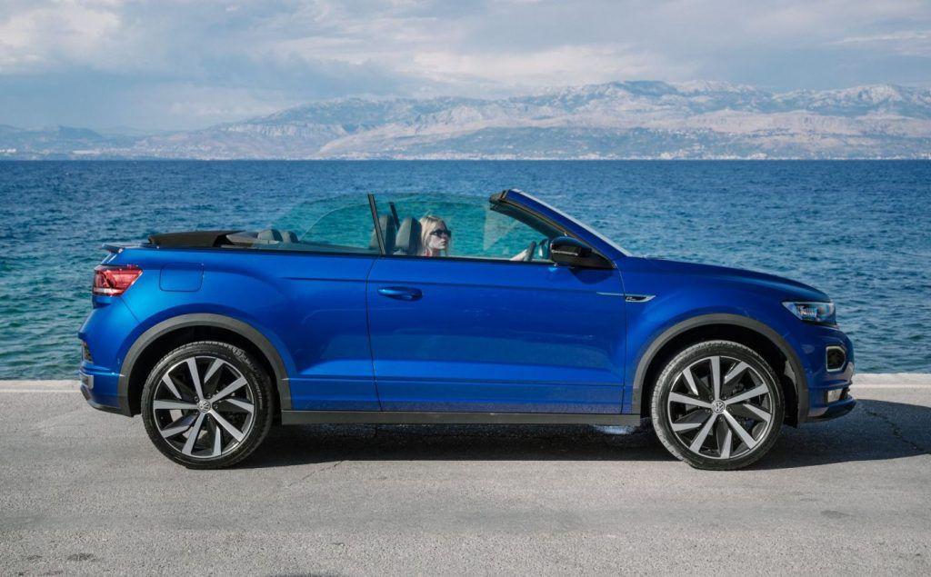 Volkswagen T-Roc Cabrio - šminker i majstor za pokvariti frizuru stigao u Hrvatsku 2