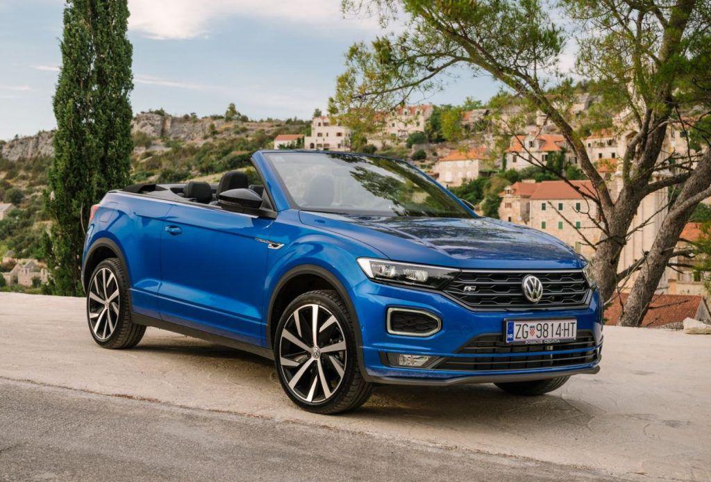 Volkswagen T-Roc Cabrio - šminker i majstor za pokvariti frizuru stigao u Hrvatsku 1