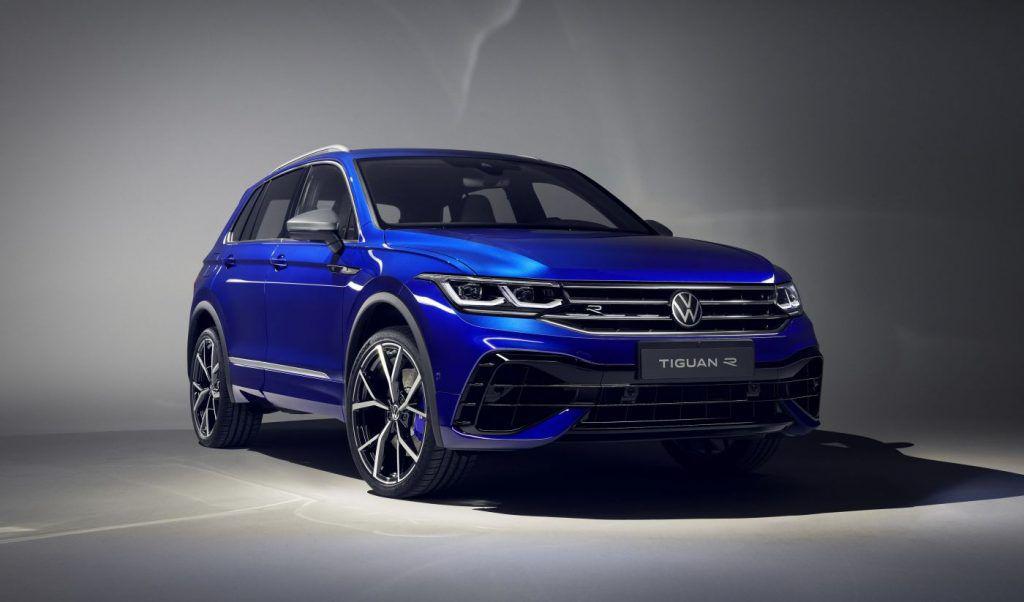 Volkswagen Tiguan s licem Golfa 'osmice' i goropadnim R izdanjem!