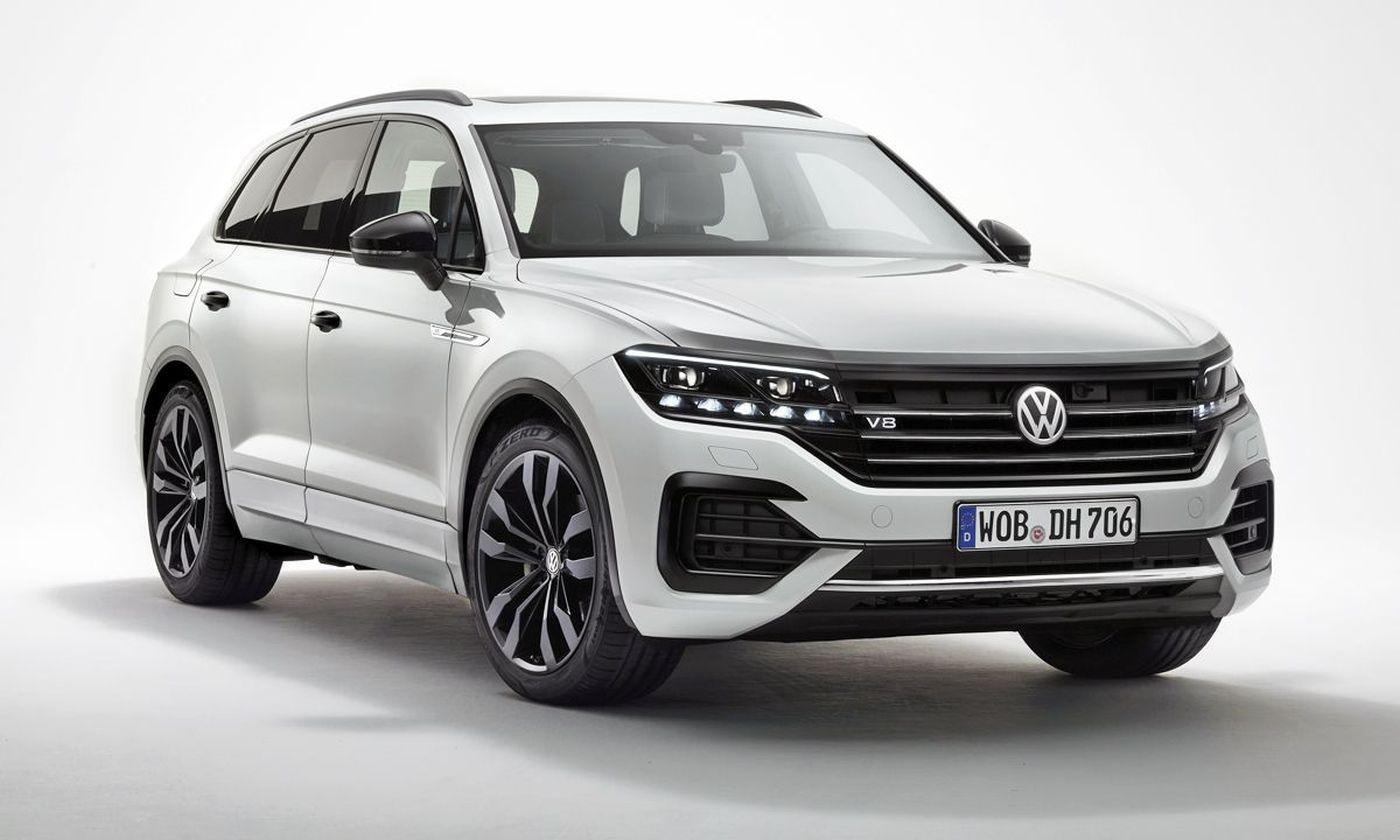 VW Touareg V Last edition