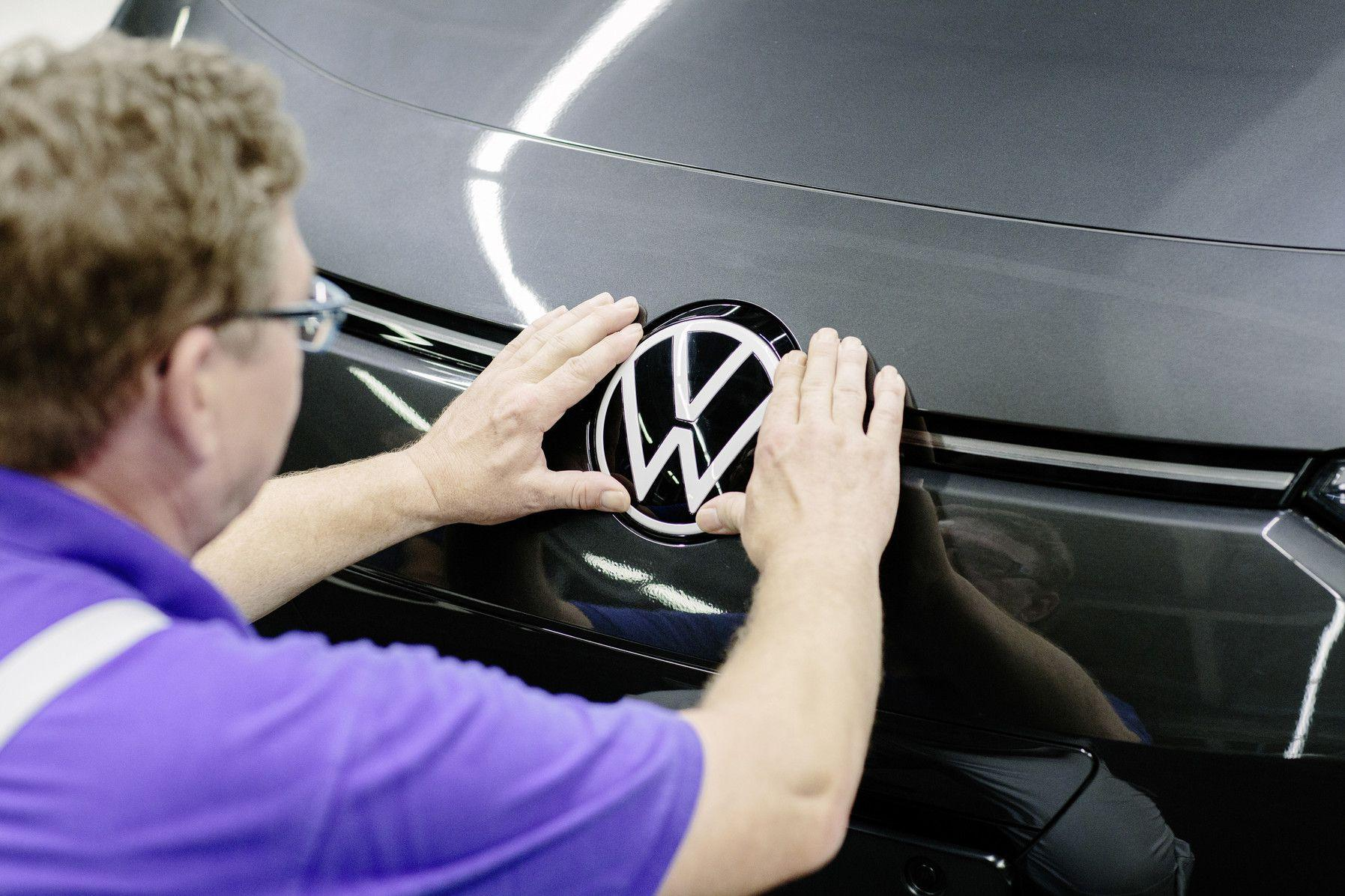 VW plant foto VW