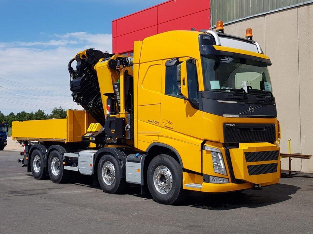 Beokran se pojačao sa stilom, Volvo FH500HP 8×2 uz Palfinger nadogradnju za nove radne uspjehe
