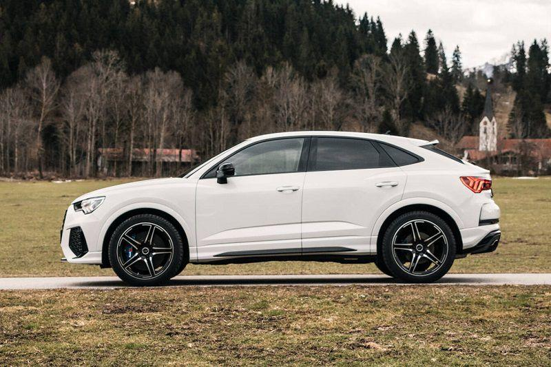 abt sportsline audi rsq  hp tuned suv first look