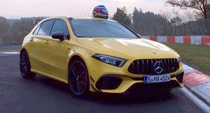 Mercedes-AMG A 45S dokazao se na Nürburgringu, ali na rekord će još pričekati