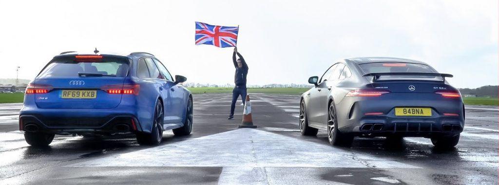 Audi RS6 vs Mercedes AMG GT 63 S - dvoboj V8 mašina, samo je jedan pobjednik!