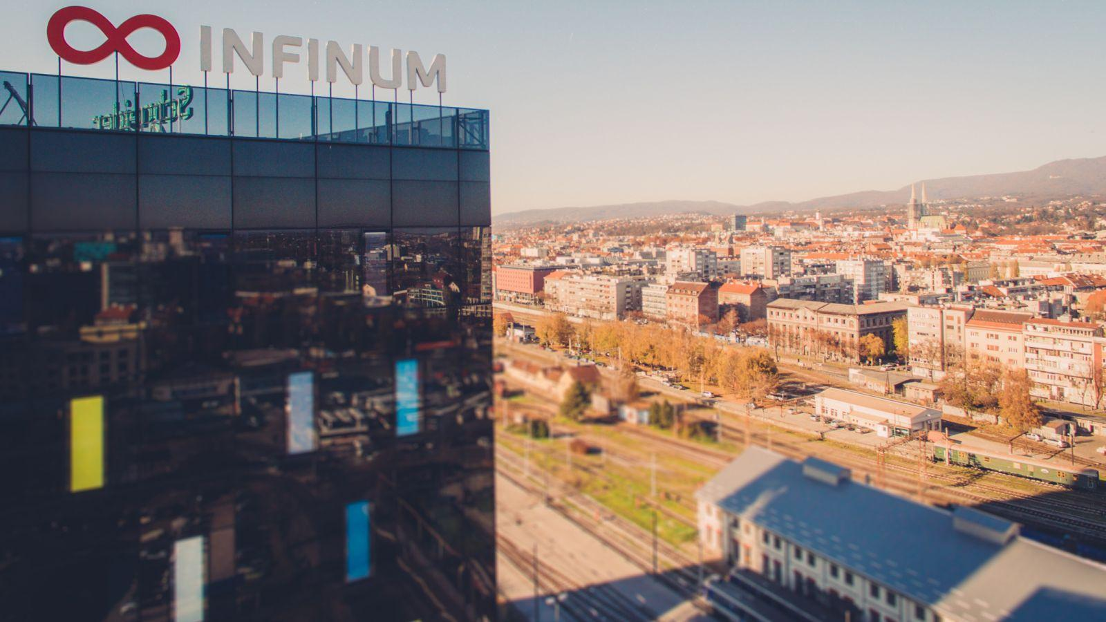 b Infinums headquarters in Zagreb