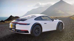 Porsche 911 Carrera kao rally vozilo u specijalnoj Delta4x4 dizajnerskoj studiji 1