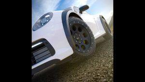 Porsche 911 Carrera kao rally vozilo u specijalnoj Delta4x4 dizajnerskoj studiji 2